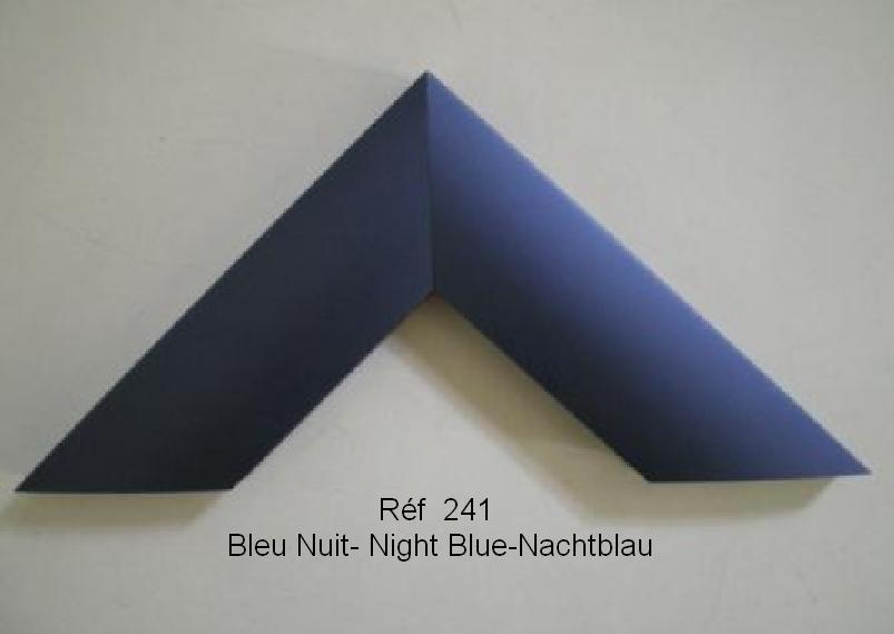 Cadre en aluminium Bleu nuit 241