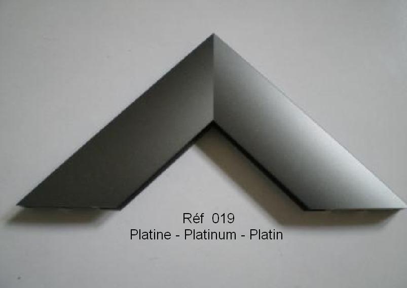 Cadre en aluminium Platine 019