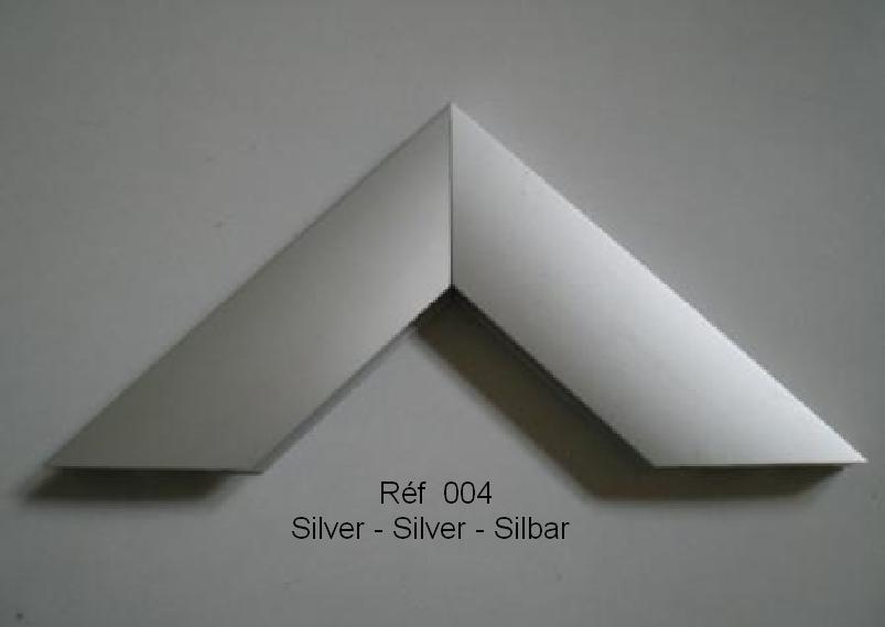 Cadre en aluminium Silver 004